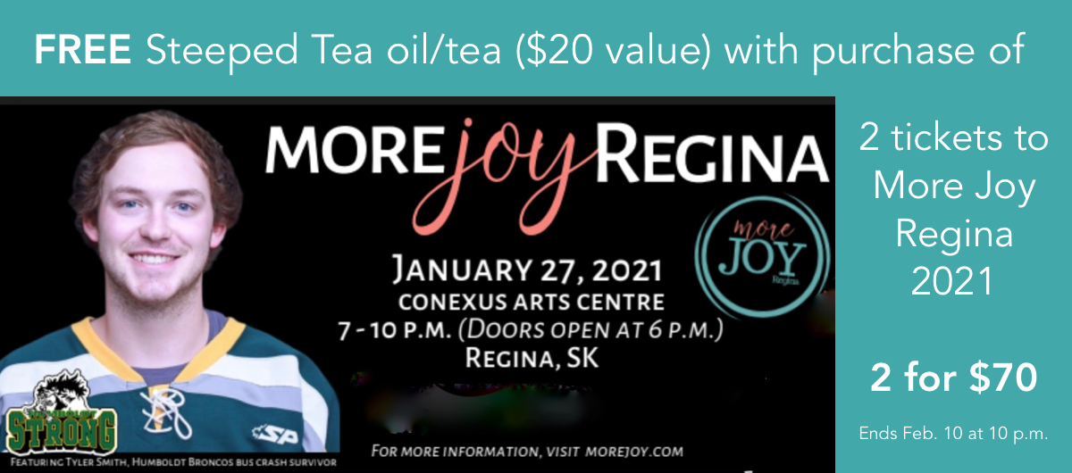 FREE tea/oil with TICKETS